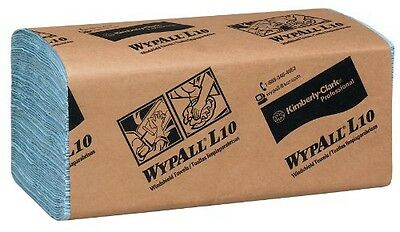 Kimberly-Clark Professional Wypall L10 Disposable Windshield Wipers, Blue,