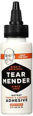Tear Mender Instant Adhesive 2oz Bottle Non-Toxic Fabric Leather Repair New