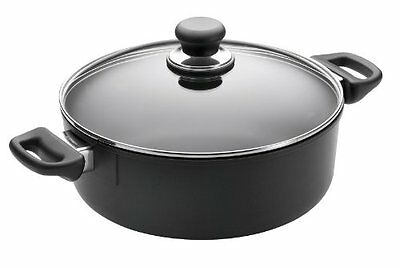 Scanpan Classic 3-3/4qt Covered Low Stew Pot Multipots Or Pasta Inserts Or Pasta