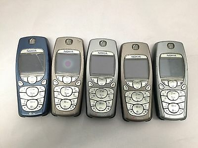 Wholesale Lot 5pc - Cell Phone Mobile Nokia Model 3595 (Used - Working)