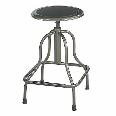 Diesel High Base Stool without Back - Pewter  1 ea