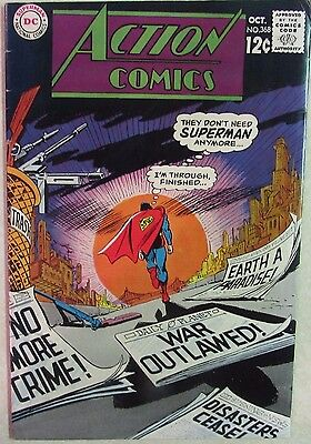 DC Comics -Action Comics - Issue # 368 Silver Age Comic 1960s - Superman