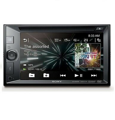 "Sony Xav-V630Bt 6.2"" Double Din Bluetooth Nfc Digital Media Car Stereo Receiver"