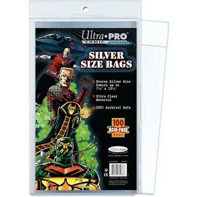 Ultra Pro Comic Series Silver Size Bags x 100