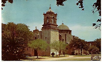 Sa Jose Mission, San Antonio, Texas, Vintage Postcard, may