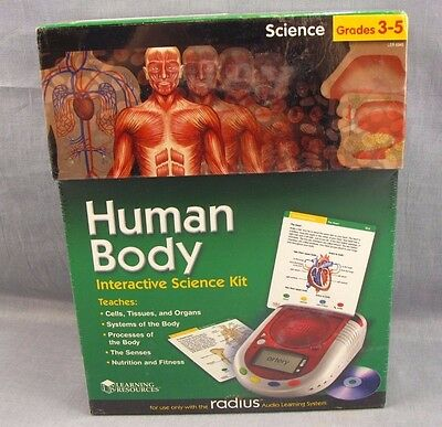 Learning Resources Radius CD Card Set Science Human Body Grdes 3-5 NEW Cells