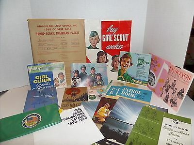 1960's GIRL SCOUT LOT