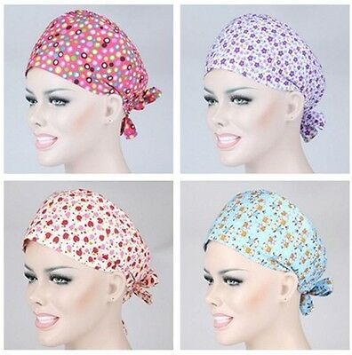 Doctors/Nurses Women New Pattern Printing Medical Surgery Surgical Cap Scarf