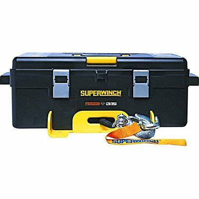 Winch 2 Go 12V 4000 Portable Winch System 4000lb w/ Wire Rope Pulley Block Glove