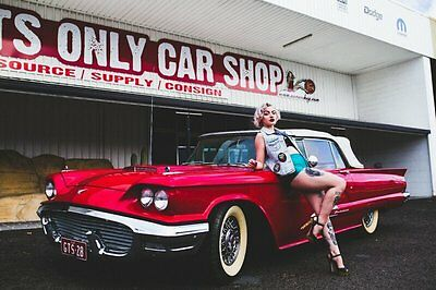 1959 Ford Thunderbird Red Automatic 3sp A Convertible