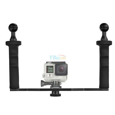 Aluminum Handheld Stabilizer Grip with Accessories for Gopro Hero 5/4S/4/3/2/1