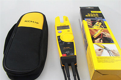 NEW FLUKE T5-600 Clamp Continuity Current Electrical Tester + Soft Case KCH16