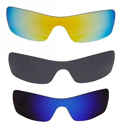 Replacement Polarized Lenses for Oakley Batwolf Sunglasses Frames F001