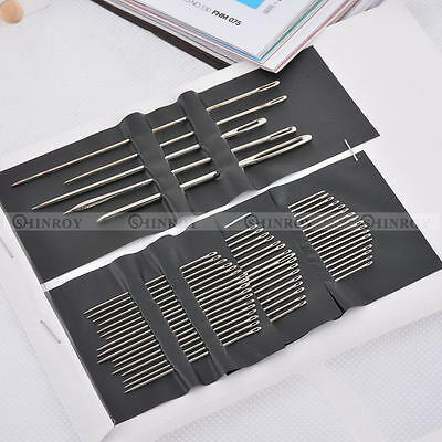 55PCS / Set Stainless Steel Hand Sewing Needle Embroidery Mending Craft