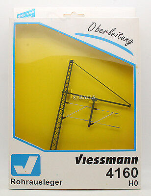 Viessmann Ho Gauge 4160 Catenary Two Track Pipe Out Mast With Arms (U21)