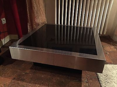 TABLE BASSE WILLY RIZZO Vintage 70