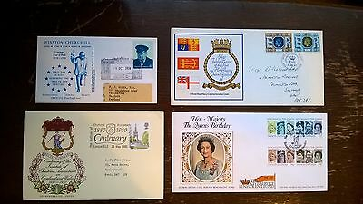 86 First Day Covers All In Excellent Condition