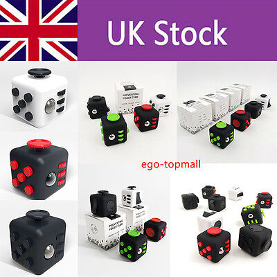 Fidget Cube 2016 Children Desk Toy Adults Stress Relief ADHD - With Box