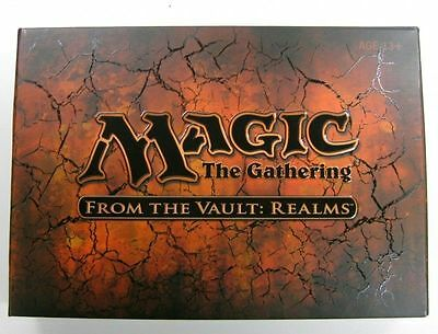 MTG - From The Vault Realms COMPLETE SEALED BOX UNOPENED - MTG Magic - ENG