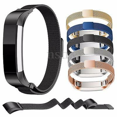 Magnetic Stainless Steel Watch Band Milanese Strap For Fitbit Alta Wristband AU