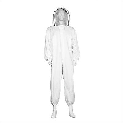 Beekeeper Suit Full Body Beekeeping Coveralls Supplies with Protective Veil Hood