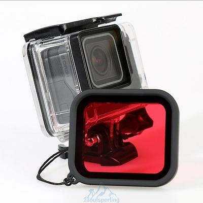 Waterproof Protective Case Cover Housing Shell+Filter For Gopro Hero 5 Accessory