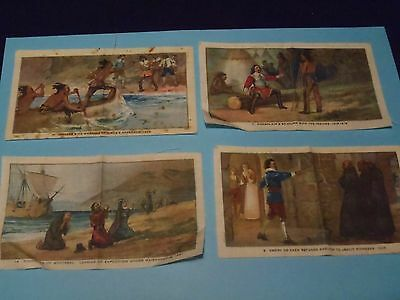 antique rare tobacco silks Canadian history series 1926 Imperial Tobacco Indians
