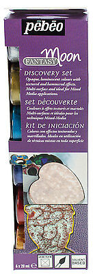 Pebeo Discovery Collection Fantasy Moon set 6