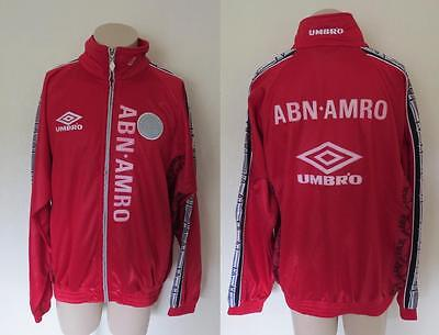 Player issue Ajax 1996-97 track top training jack size XL