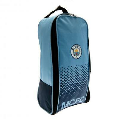 Official Manchester City MCFC Boot Bag Football Trainers School Gym Shoes Man