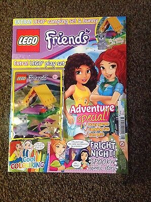 LEGO FRIENDS Magazine Issue 25 With free Limited Edition LEGO Play Set