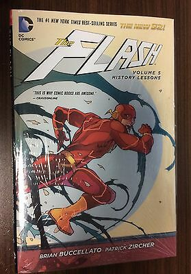 FLASH Volume 5 Hardcover -- History Lessons -- SEALED HC -- Brian Buccellato