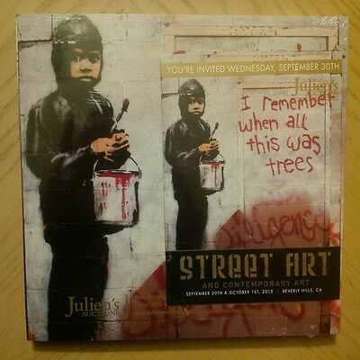 Julien's Auction Catalog: Contemporary Art ~ BANKSY ~ October 2015 *SEALED NEW*