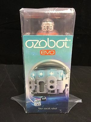 Ozobot Evo the Smart and Social Robot Toy - Crystal White *NEW