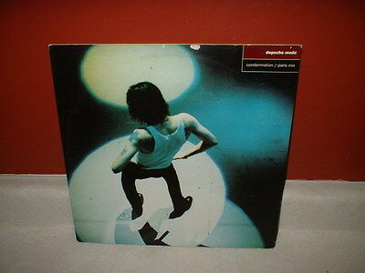 "Depeche Mode Condemnation Paris Mix Usa Rare 1993 12"" Vinyl Record Single"