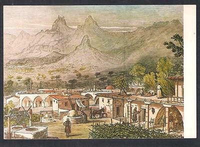 CYPRUS, FARM HOUSE from OLD ENGRAVING LONDON 1878, MINT POSTCARD