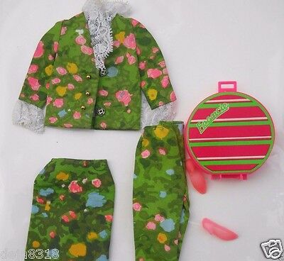 Mattel Francie Outfit #1293 Partners In Print Sears Rare NM Mod Complete 1967