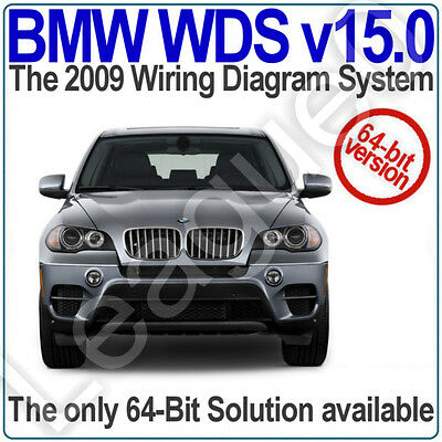 BMW WDS version 15.0 for 64-Bit Systems. Wiring Diagram System up to 2009. v15