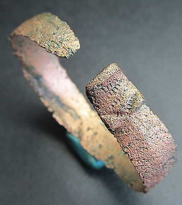 Ancient Bronze Viking Bracelet. Snake.(1.1). Сleared.