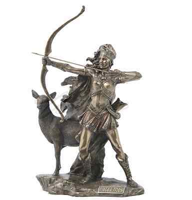 Artemis - The Goddess Of Hunting And Wilderness Statue Sculpture Figure