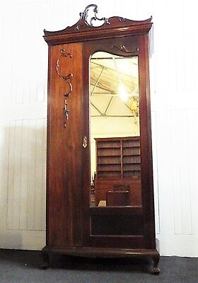 Antique French style wardrobe dressing table marble millinary washstand