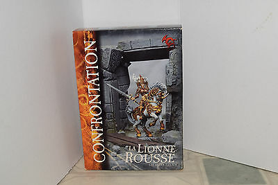 Rackham Confrontation Lions of Alahan The Red Lioness (OOP, Basilean)
