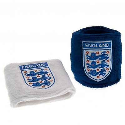 Official Licensed Football Product England Wristbands BW Sweatbands Euro 2012