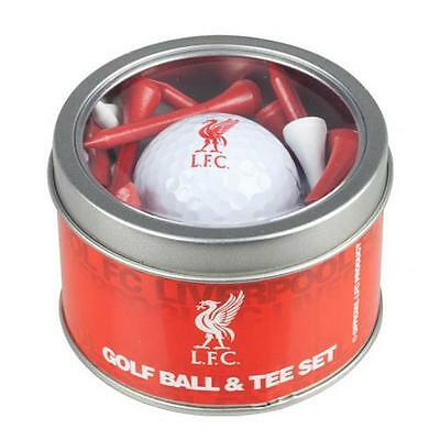 Official Licensed Football Product Liverpool Golf Ball & Tee Set 24 Tees Gift