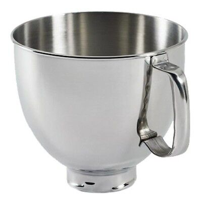 K5THSBP KitchenAid Genuine 5-QT Mixing Bowl OEM Stainless Steel Polished Mixer
