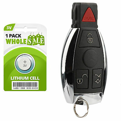 Replacement For 2000 2002 2003 2004 2005 2006 Mercedes Benz C230 Key Fob Remote