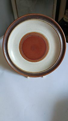 """Denby Potter's Wheel Rust Red 8 1/4"""" Salad Plate (s)"""