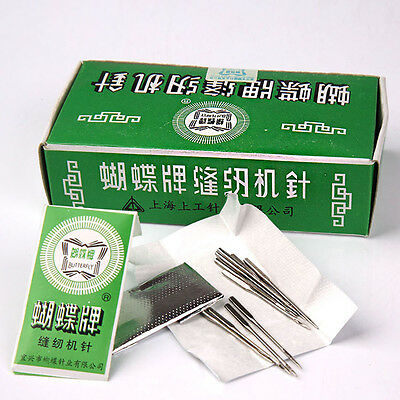Top 50pcs Threading Needles Pins For Domestic Sewing Machine Needle 65/9 90/14