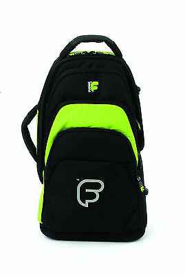 Fusion F1 Cornet Lime Green - Gig Bag Backpack Inner Sleeve Rugged Comfortable