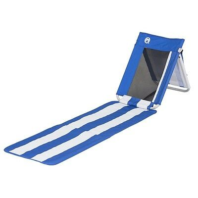 Picnic Rug Beach Mat with Adjustable Back Rest & Insulated Snacks Drinks Cooler